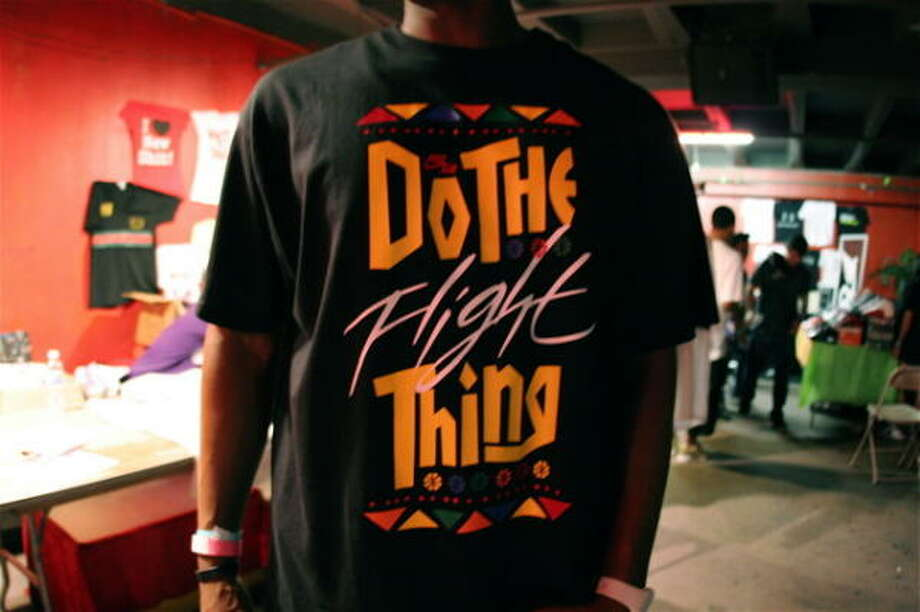 The fifth anniversary of The H-Town Sneaker Summit was held at the Meridian. Photo: Jordan Graber, For The Chronicle