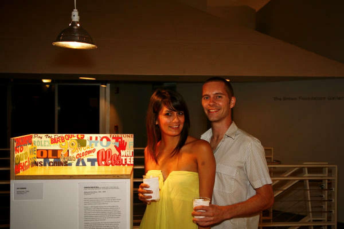 Stephanie Fraide and Tim Derrington