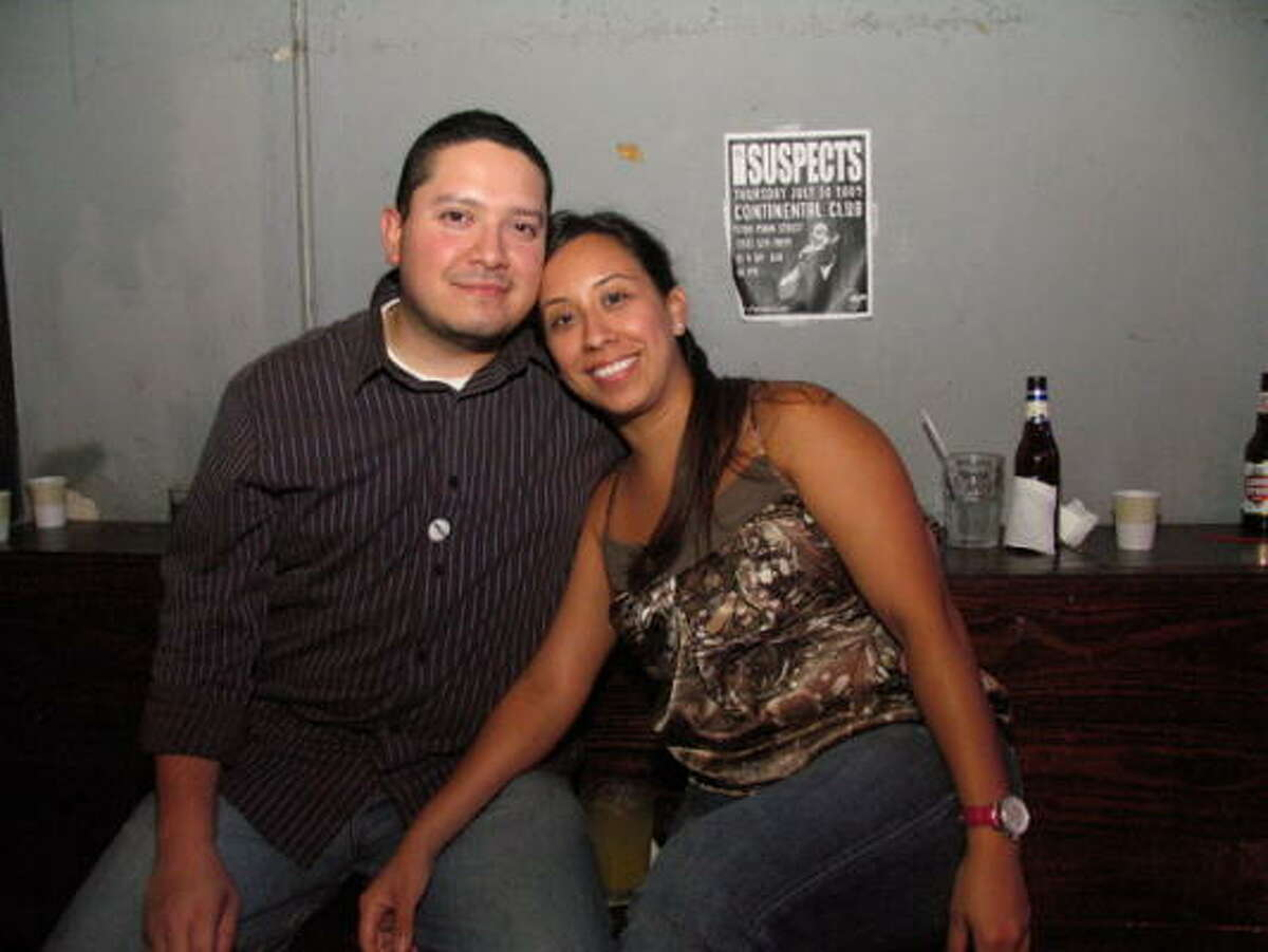 Mario Torres, left, and Christy Rivera