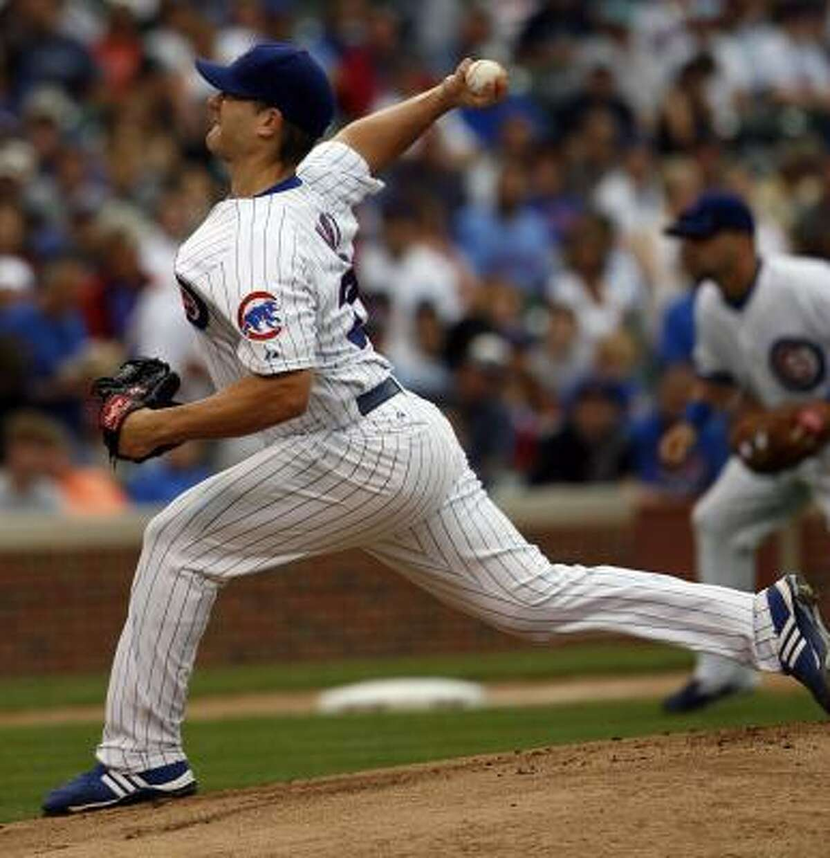 July 30: Cubs 12, Astros 3 Cubs starter pitcher Kevin Hart held the Astros to three runs on six hits in six innings of work.