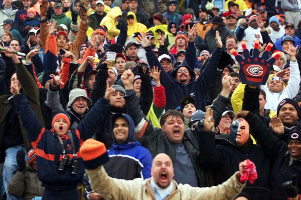 No. 1: Chicago Those sports-crazy Chicagoans claim the top spot.