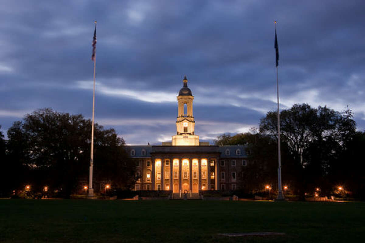 Princeton Review's Top 20 Party Schools No. 1 Penn State University