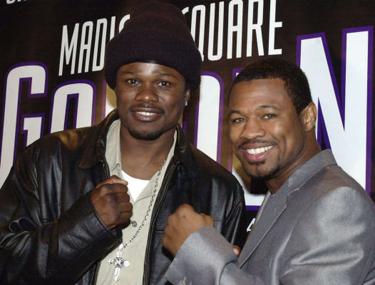 After turning pro in 1992, Vernon Forrest, left, had to wait eight years to get a title shot despite being unbeaten. He finally won a belt in 2001 and then got the megafight he was looking for on Jan. 26, 2002, against the popular and fellow undefeated fighter Sugar Shane Mosley.
