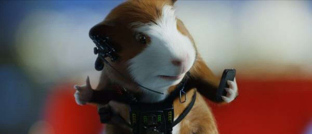 G-Force beat out Harry Potter to the top of the box office, bringing in $32.2 million over the weekend.