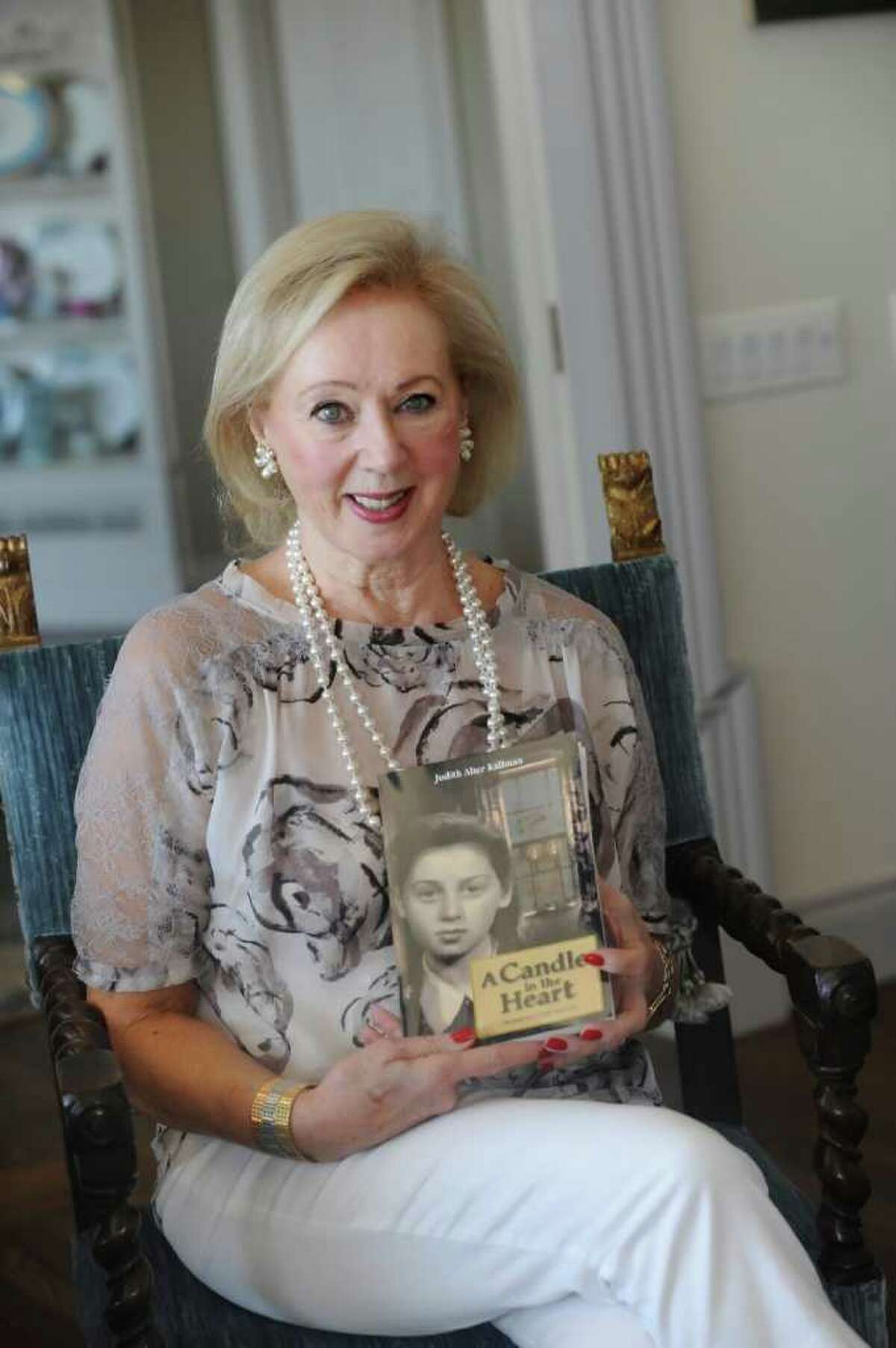 Judith Kallman, of Greenwich, shares her story of Holocaust survival in a new book,