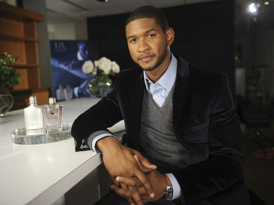 R&B singer Usher was also inspired to create his own fragrance, UR, for men and women.