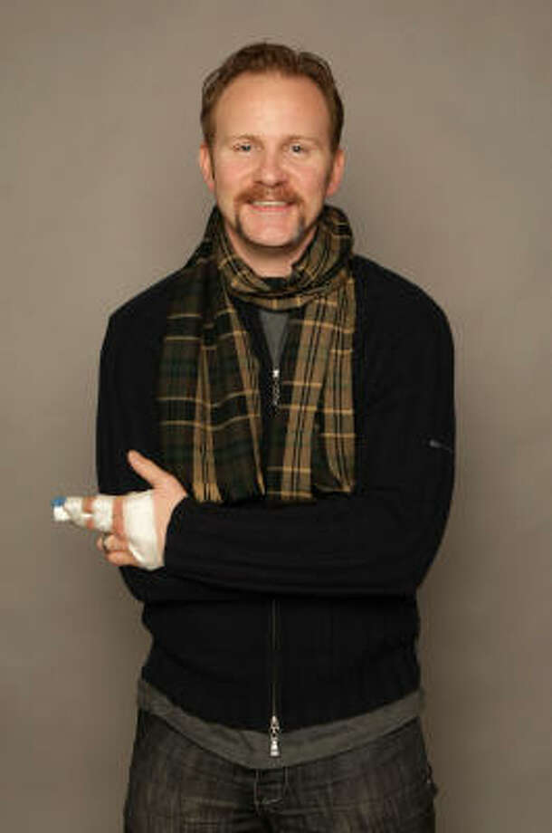 Morgan Spurlock | Grab the handlebar. | Rating 6. Photo: Getty Images