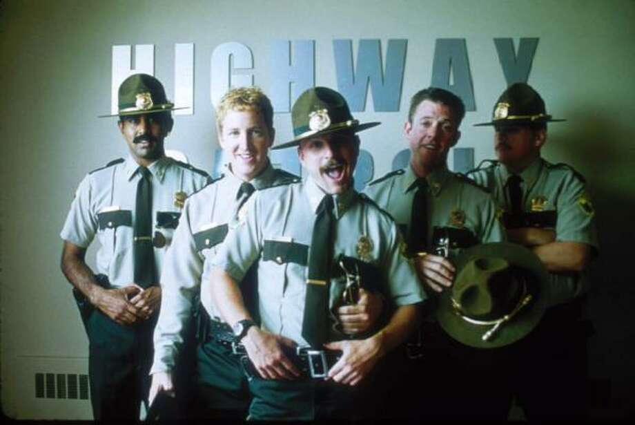Super Troopers | Pull over. | Rating: 9. Photo: NELS ISRAELSON, AP