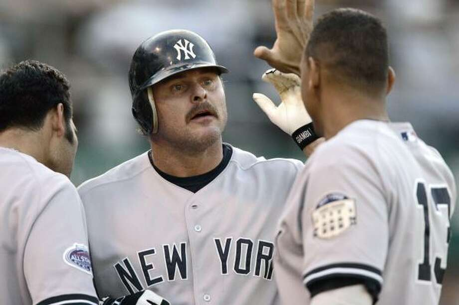 Jason Giambi | Ironic jock. | Rating: 1. Photo: Ben Margot, AP