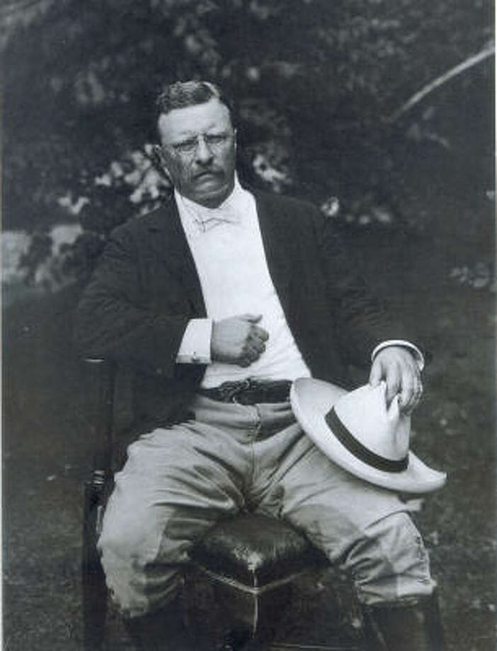 Theodore Roosevelt | Presidential 'stache. | Rating: 10. Photo: AP