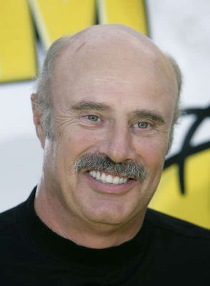 Dr. Phil McGraw | Been there since high school. | Rating 2. Photo: Matt Sayles, AP