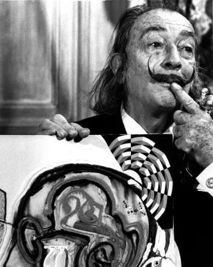 Salvador Dali | Making a point. | Rating: 8. Photo: AP