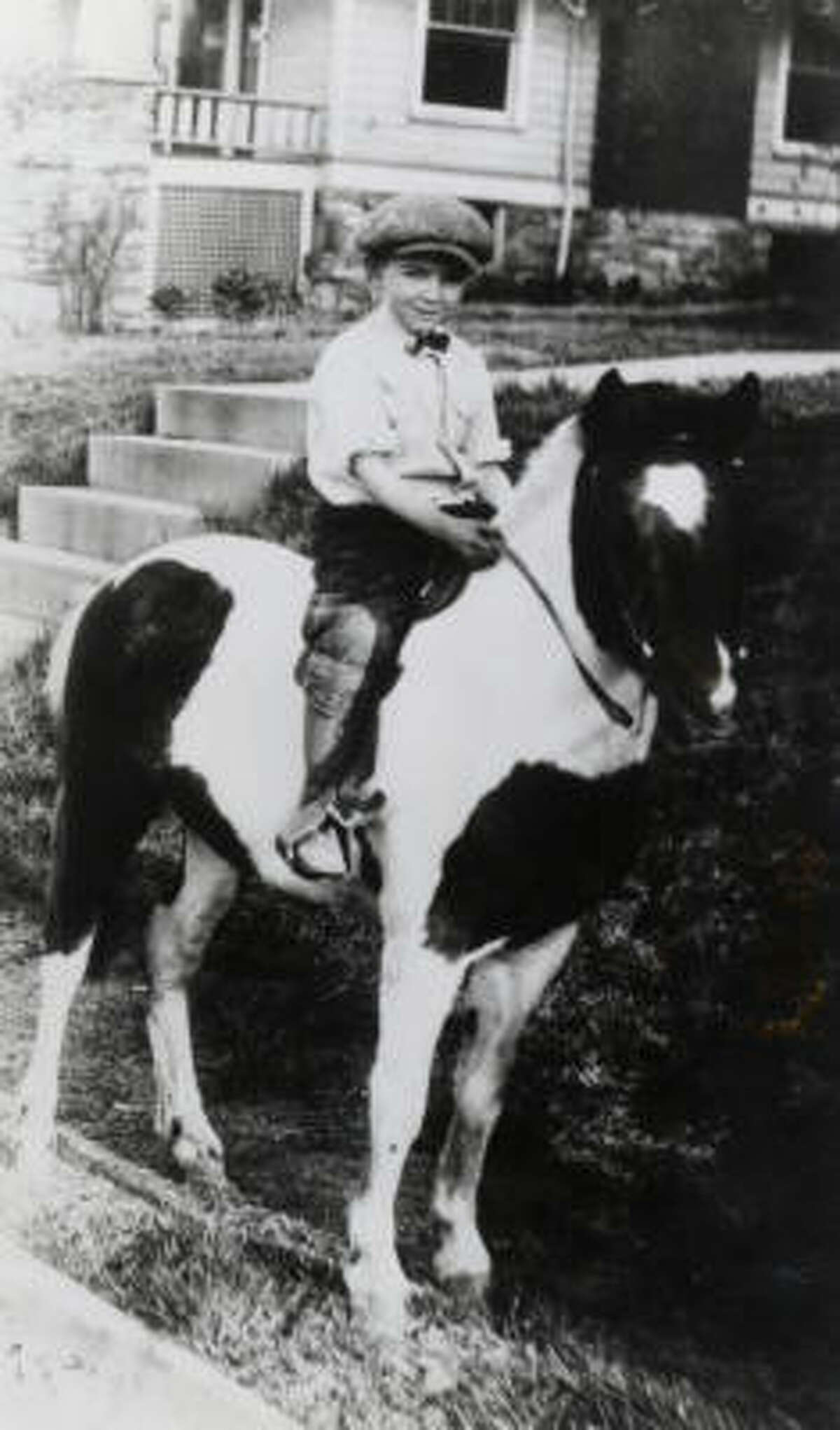 Walter Cronkite at age 7.