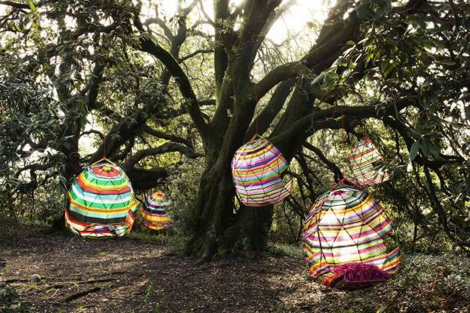 These human cocoons are outrageously fun. Trust Moroso, the hip Italian furniture company, to produce such funky, edgy pieces for its Tropicalia collection. Photo: Moroso