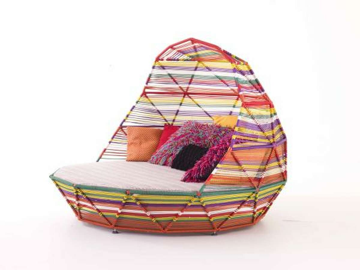 The collection by designer Patricia Urquiola also includes this outdoor bed and is $1,167-$19,654. Kuhl-Linscomb, 2424 W. Alabama; 713-840-1500