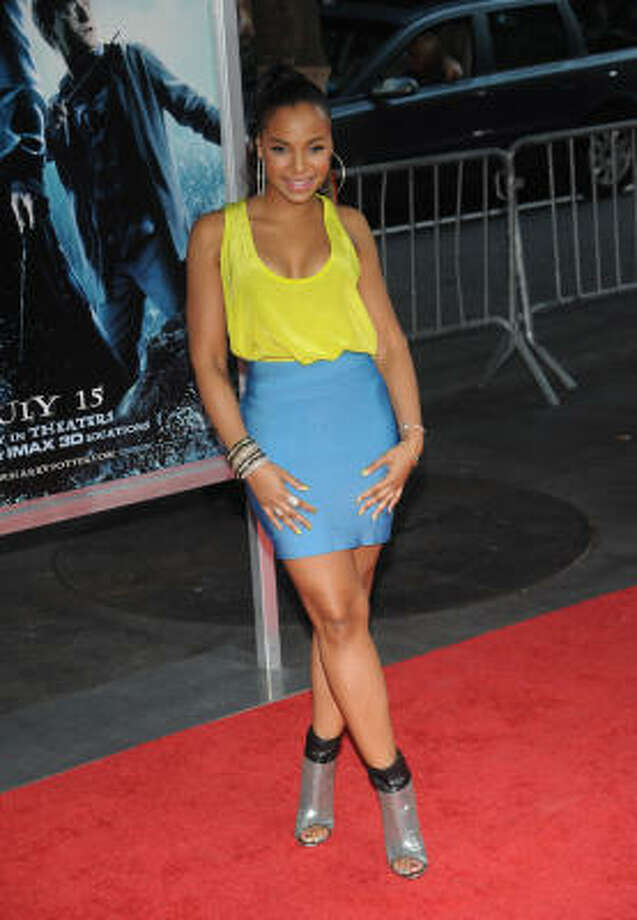 Ashanti attends the premiere of Harry Potter and the Half-Blood Prince. Read the review. Photo: Brad Barket, Getty Images