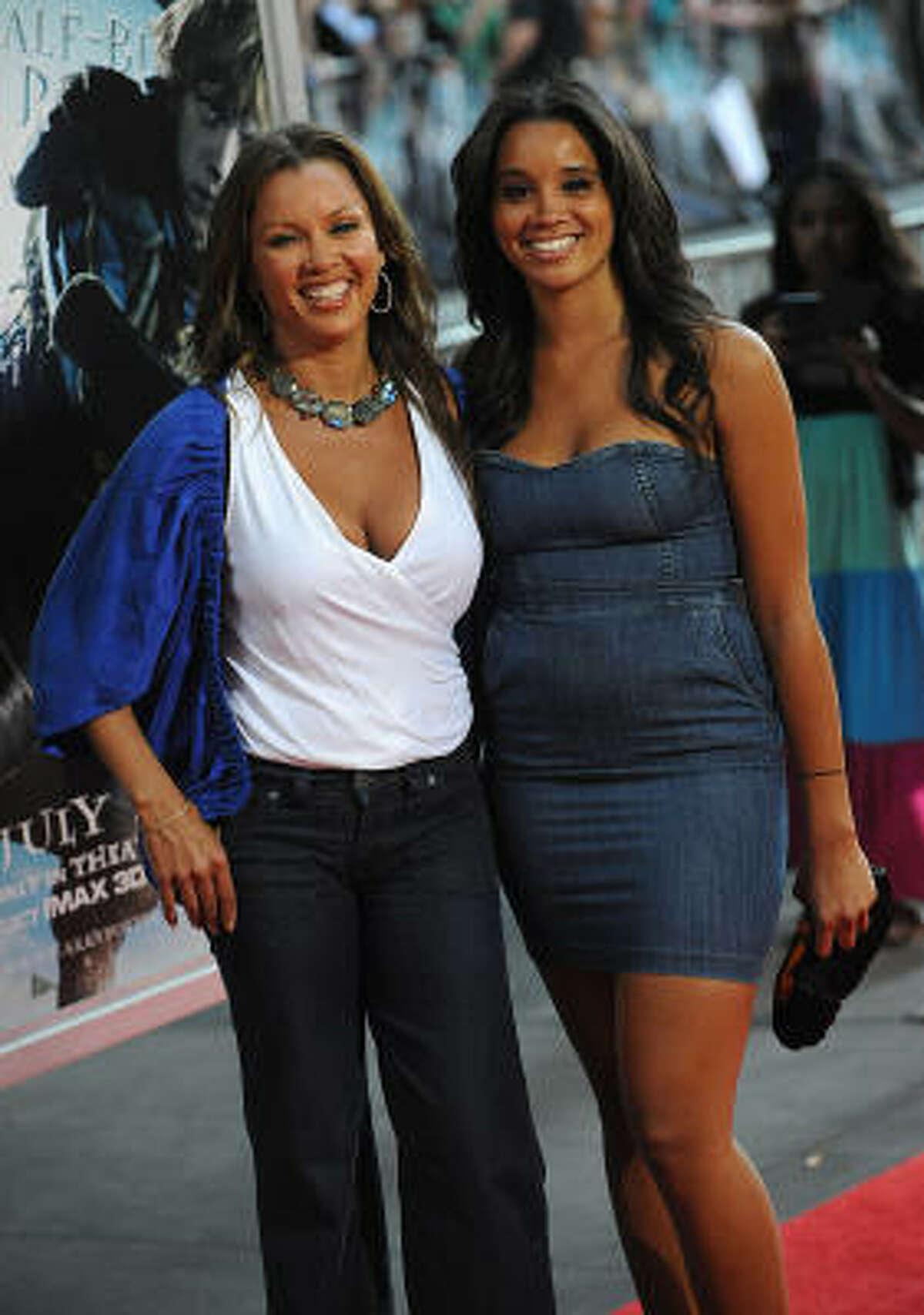 Vanessa Williams and Sasha Fox