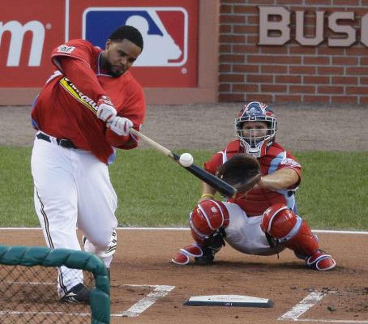 Brewers first baseman Prince Fielder: 11 HR