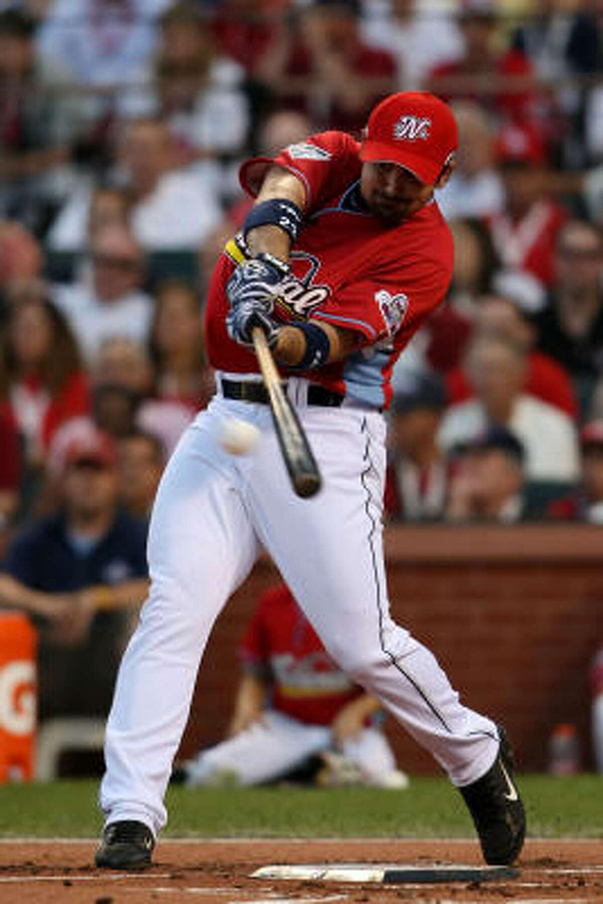 Padres first baseman Adrian Gonzalez: 2 HR