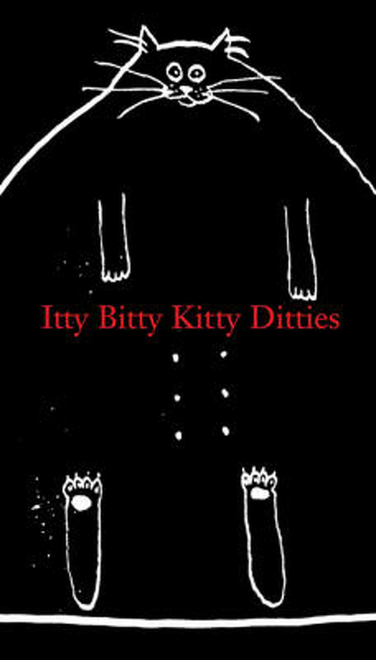 "Itty Bitty Kitty Ditties by Alex Boies, Jo Davison and Tim Hodapp (Abrams Image, $9.95). Short poems about cats with large personalities.That's Edith on the cover: ""Edith the cat / Earned eighth place at the show / With her full feline figure / And face all aglow."""