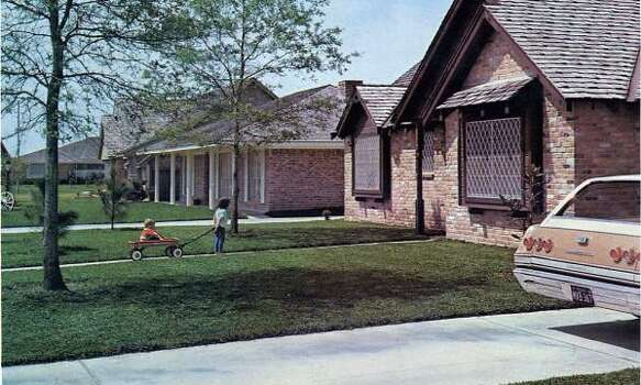 By 1965, houses in Camino South started at $16,000; Oakbrook, $20,000; and Clear Lake Forest, $27,500. Photo: Friendswood Development Corp.