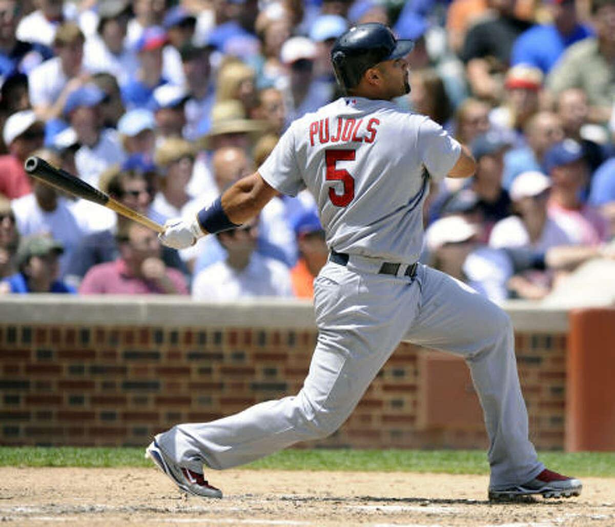 Albert Pujols, St. Louis Cardinals Odds: 2/1