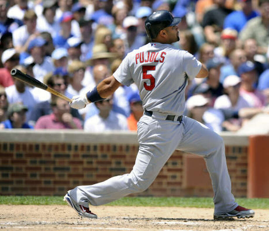 Albert Pujols, St. Louis CardinalsOdds:  2/1 Photo: Paul Beaty, AP