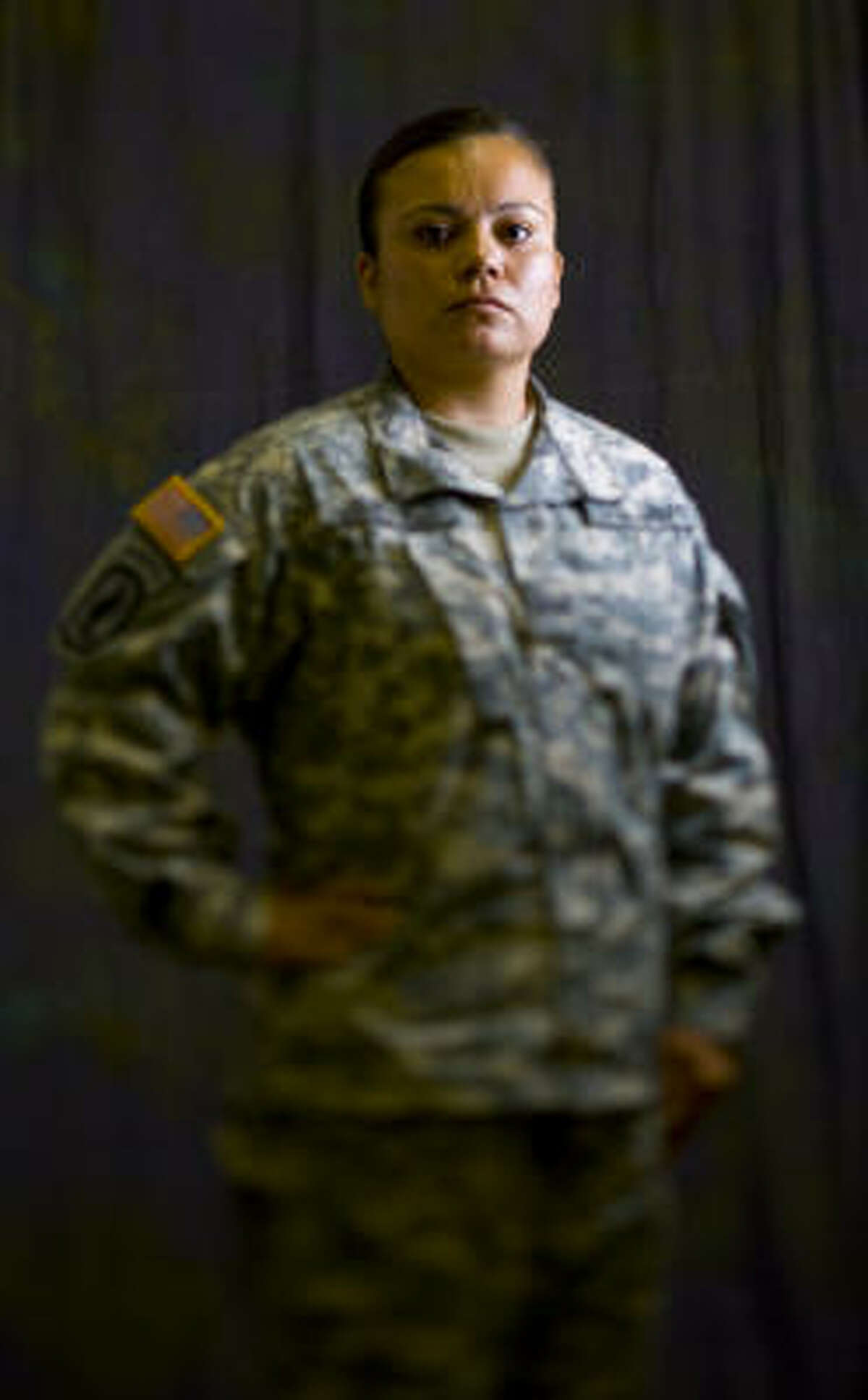 Erendira Jimenez is a veteran of the Afghanistan War, and was the lone female among 59 men. Read the story: Called to serve.