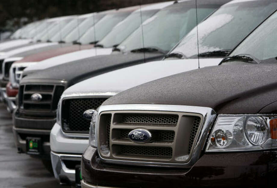 1. Ford trucks, 172 stolen Search new Fords here. Photo: David Zalubowski, AP