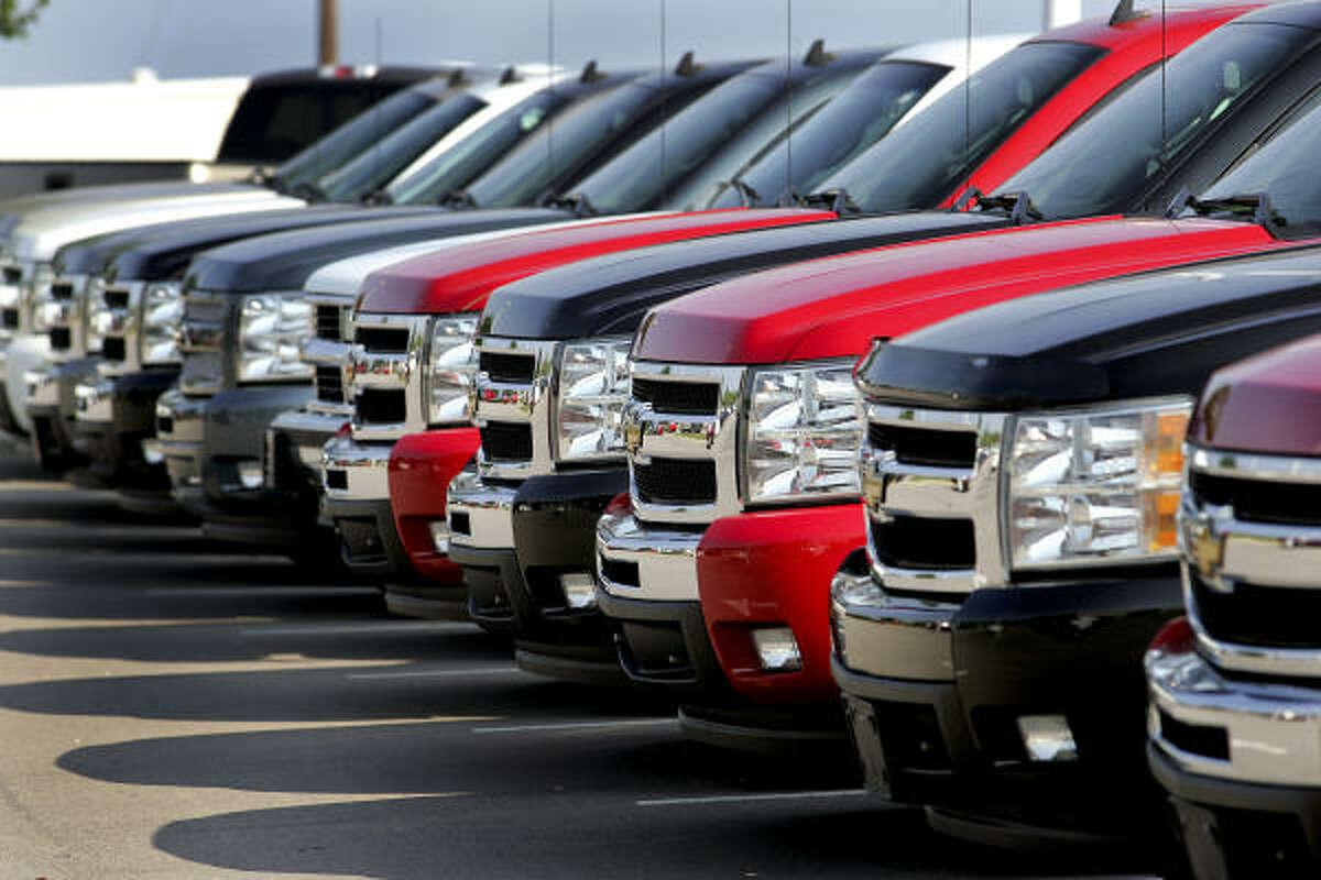 2. Chevrolet trucks, 135 stolen Search new Chevrolet trucks here.