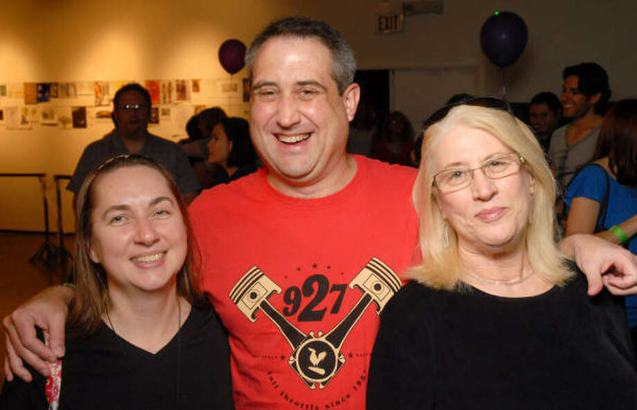 From left: Darcy and Mark Curtin with Cynthia Hoyt. To read about where Kid Rock was spotted in town, click here. Photo: Dave Rossman, For The Chronicle