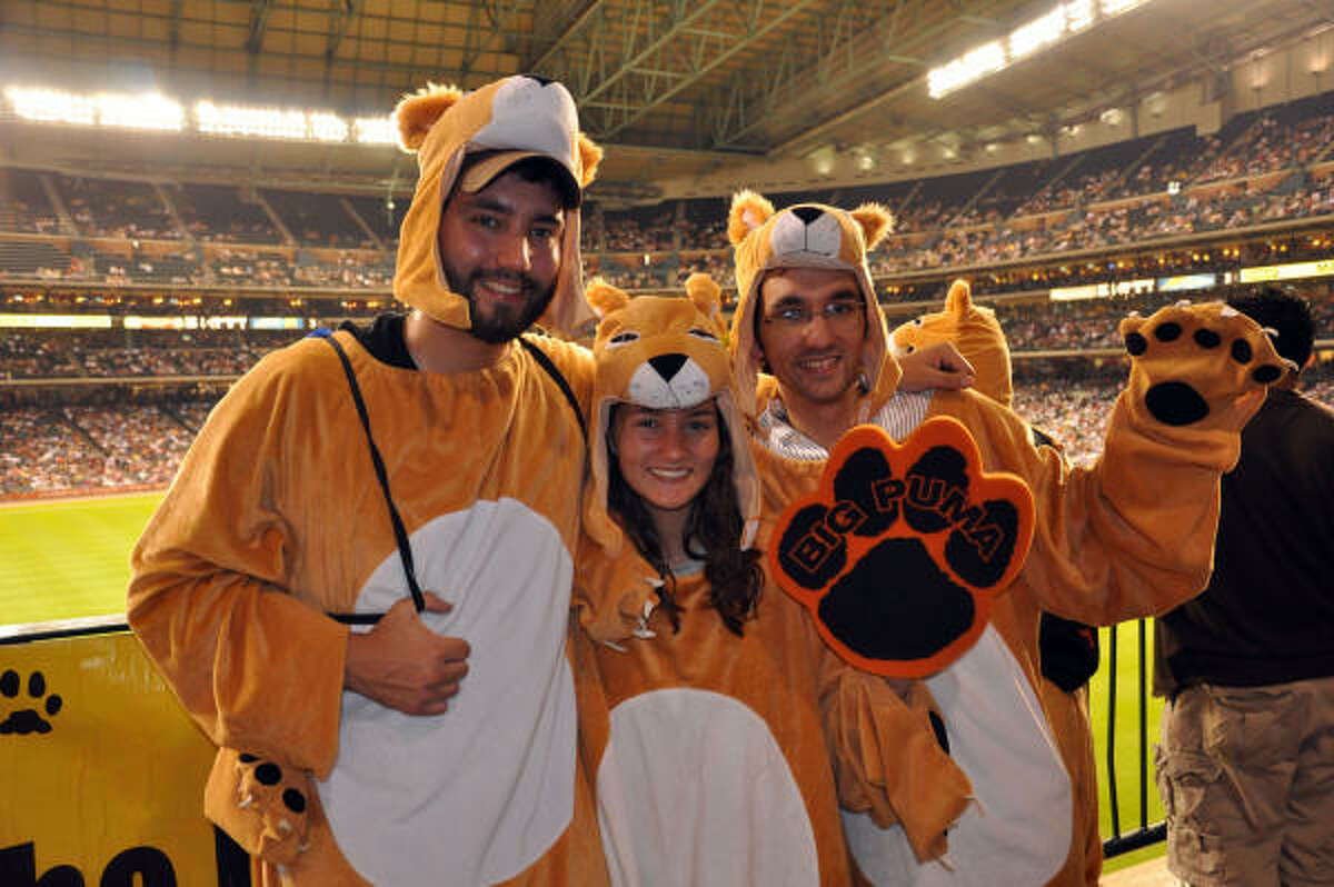 Bubba, Holly and Kevin Fairdosi could form their own Puma Den.