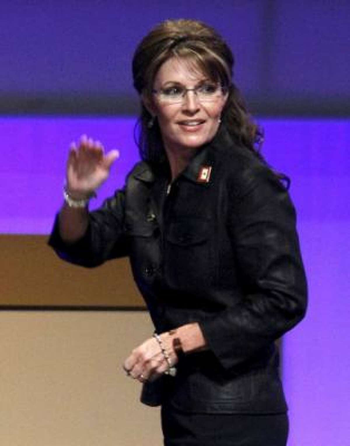 Gov. Sarah Palin is stepping down.