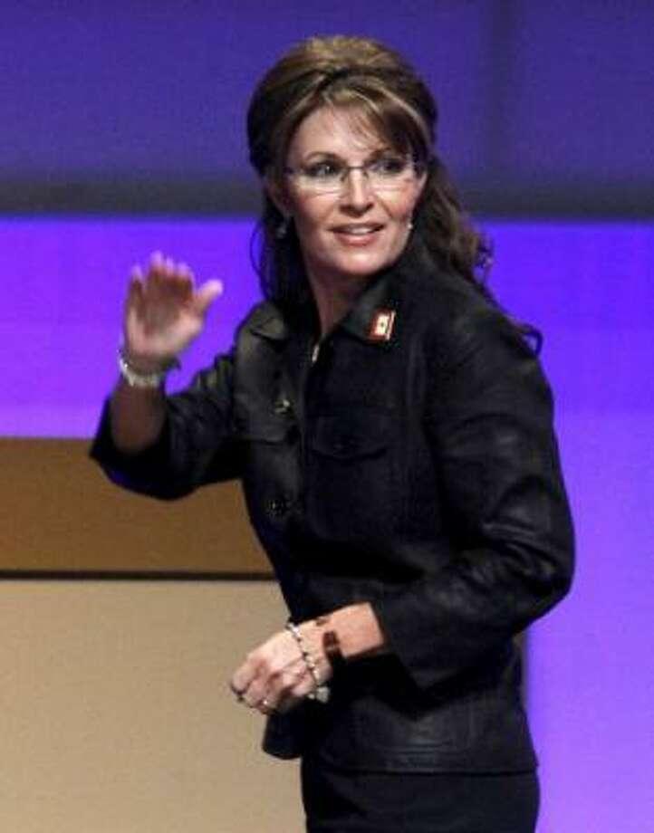 Gov. Sarah Palin is stepping down. Photo: Associated Press