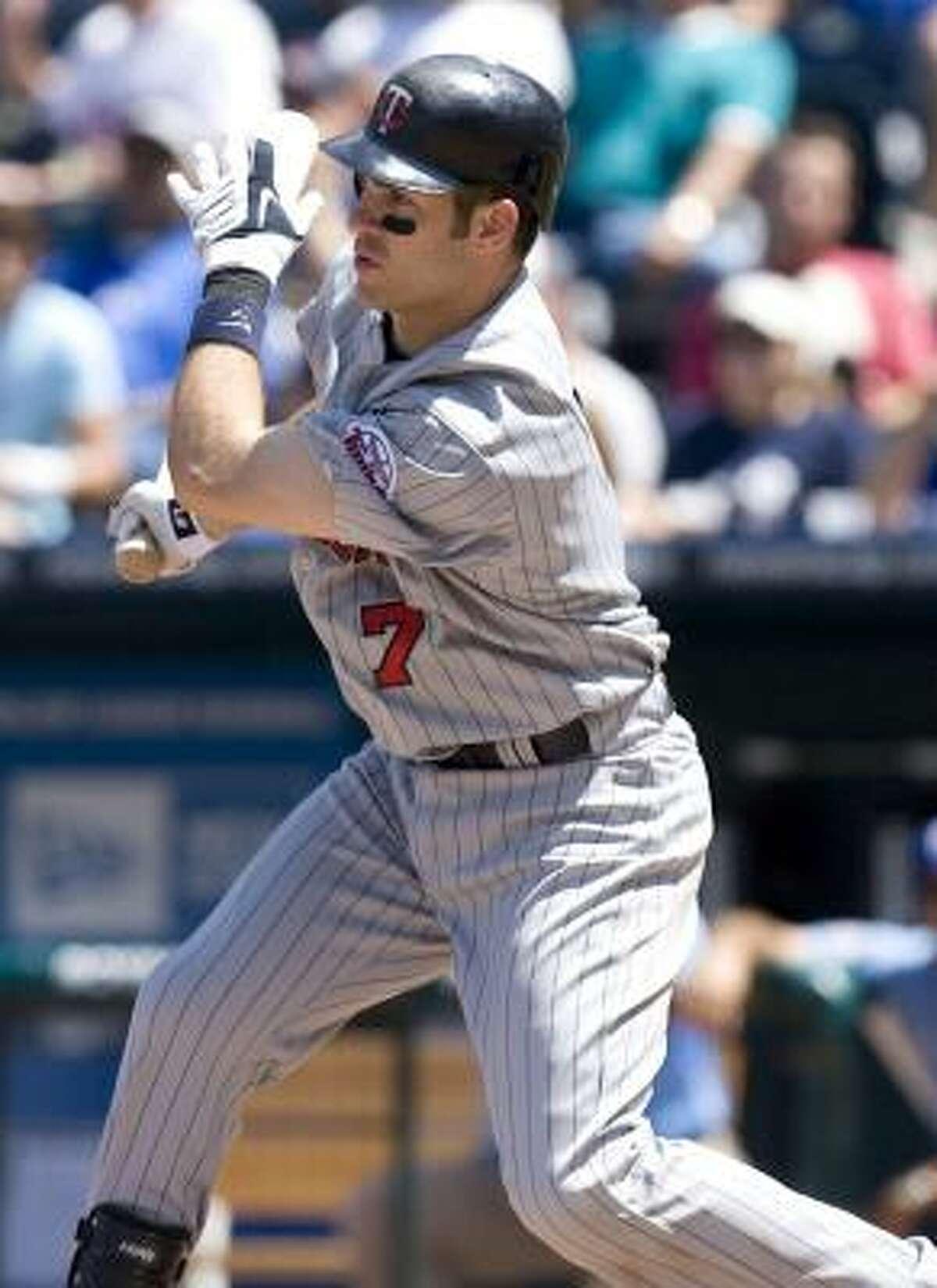 Joe Mauer Position: Catcher Team: Minnesota Twins