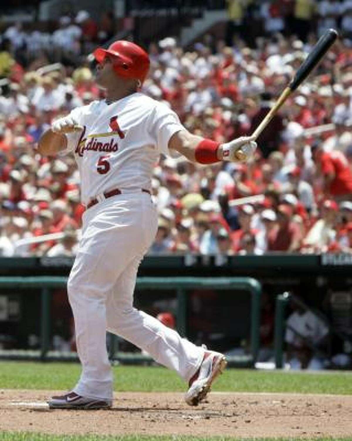 Albert Pujols Position: First base Team: St. Louis Cardinals
