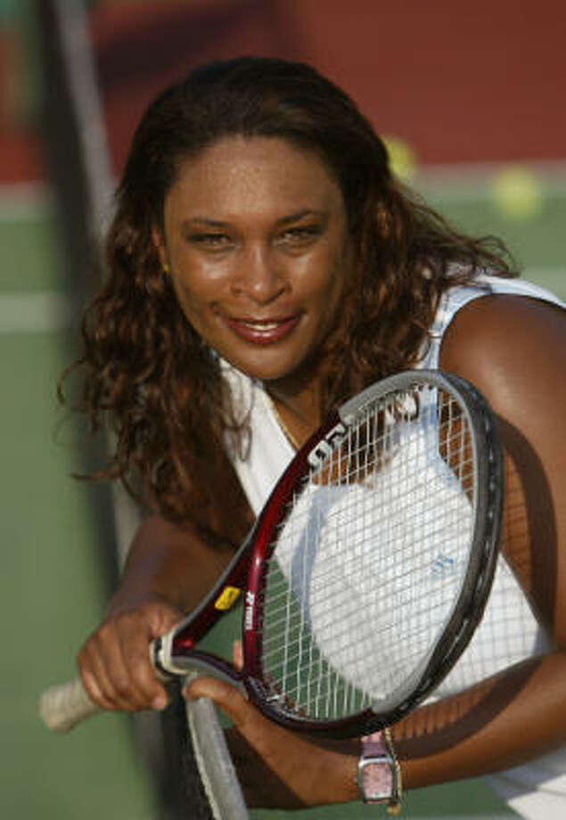 Zina Garrison won the national girls' 18-year-old title at age 14. She skipped her graduation from Sterling High School to compete in first pro tournament, the French Open, where she lost to Martina Navratilova in the quarterfinals. She had 34 professional victories. She was a Wimbledon singles finalist in 1990 and won Olympic gold and bronze medals in 1988. Photo: Andrew Innerarity, Chronicle