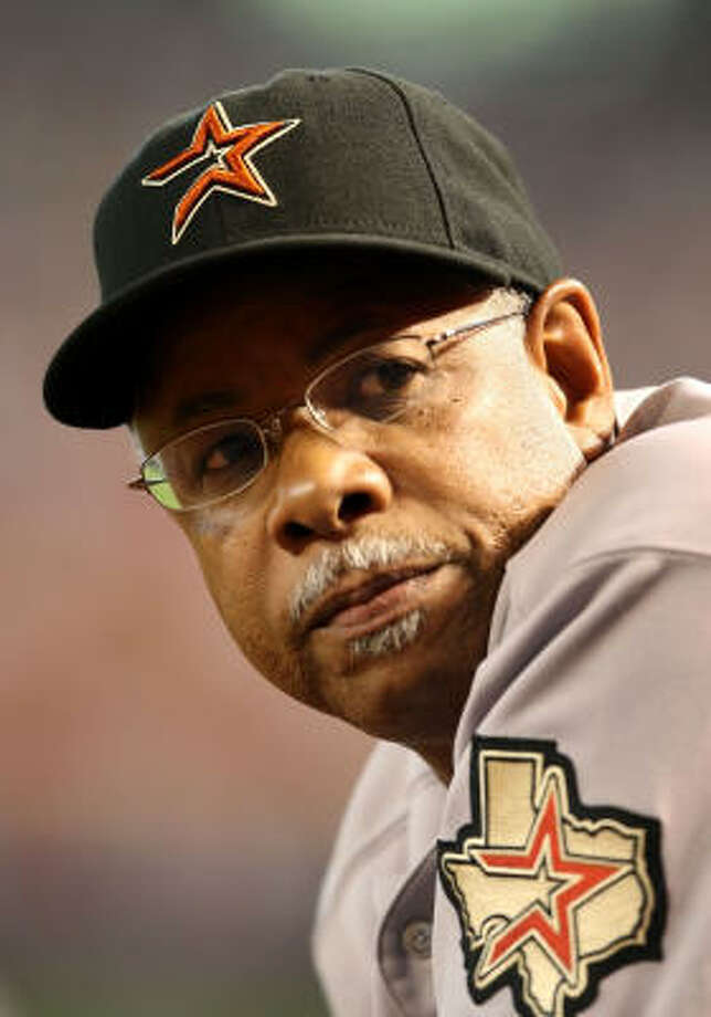 Cecil Cooper (Astros)Odds: 1-1 Cooper might want to find a good real estate agent as the top choice to be the first manager/coach to be fired among Texas' pro teams. Photo: Christian Petersen, Getty Images