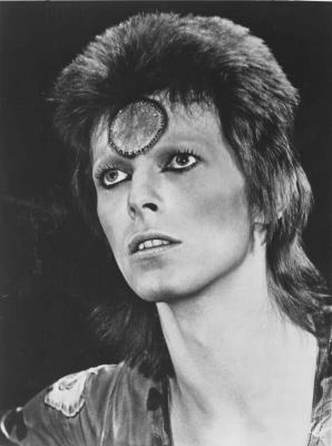 Ziggy Stardust: David Bowie transformed into a hard-rocking glamazon from outer space.
