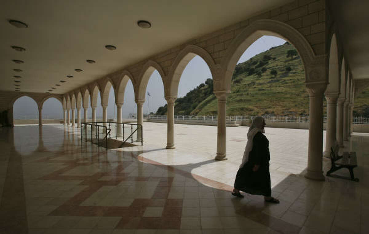 Nebi Shweib is a holy site for Druse Arabs. It is a stop on the Jesus Trail.
