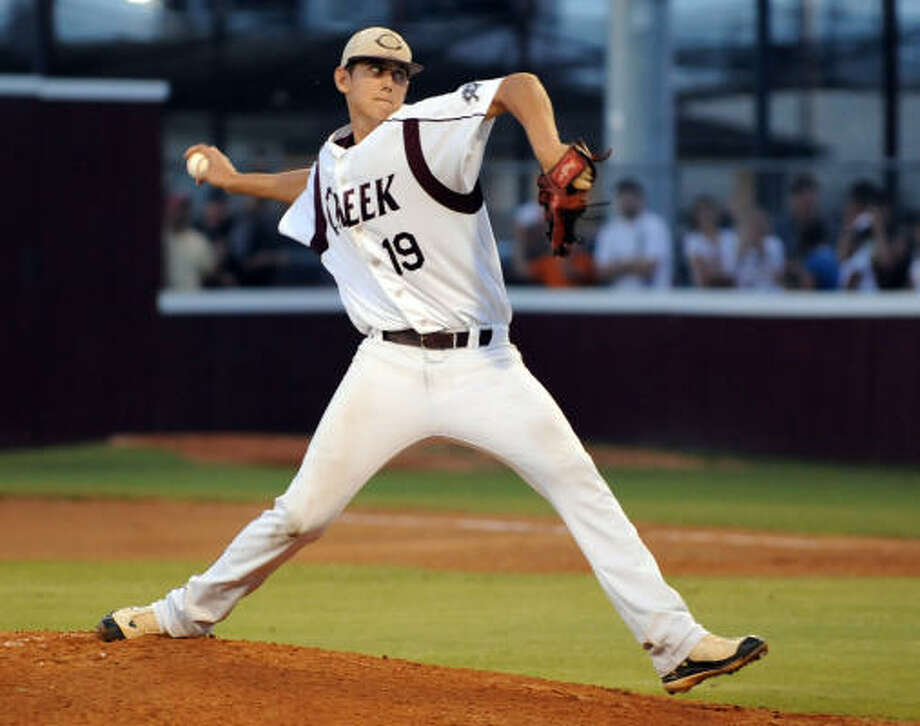 Shawn Blackwell, Sr., Clear Creek, Position: PitcherThe Kansas signee and 24th round selection by the Texas Rangers was 7-4 with a 2.24 ERA and 117 strikeouts in 72 innings pitched this season. Photo: Kim Christensen, For The Chronicle