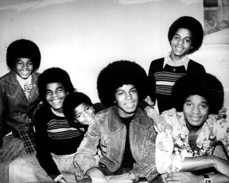 The Jackson 5 were five brothers from Indiana who signed with Berry Gordy's Motown record label, posed for this photo in 1972. Photo: Frank Barratt, Getty Images