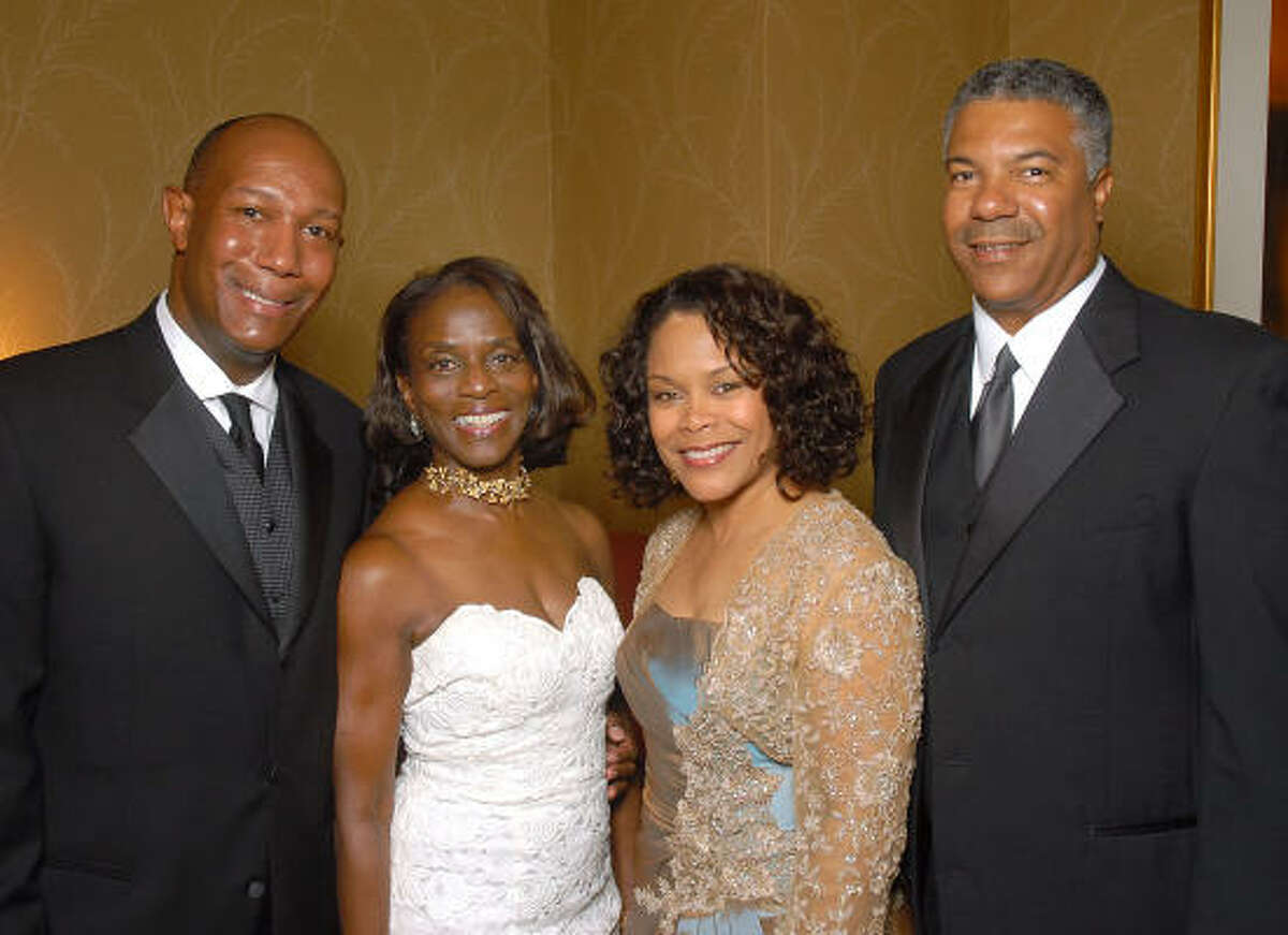 From left: Cary and Judge Clarease Yates with Cora and Judson Robinson III