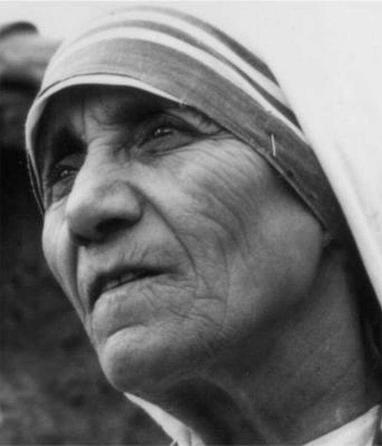 """""""I know God will not give me anything I can't handle. I just wish that He didn't trust me so much.""""  --Mother Teresa Photo: AP"""