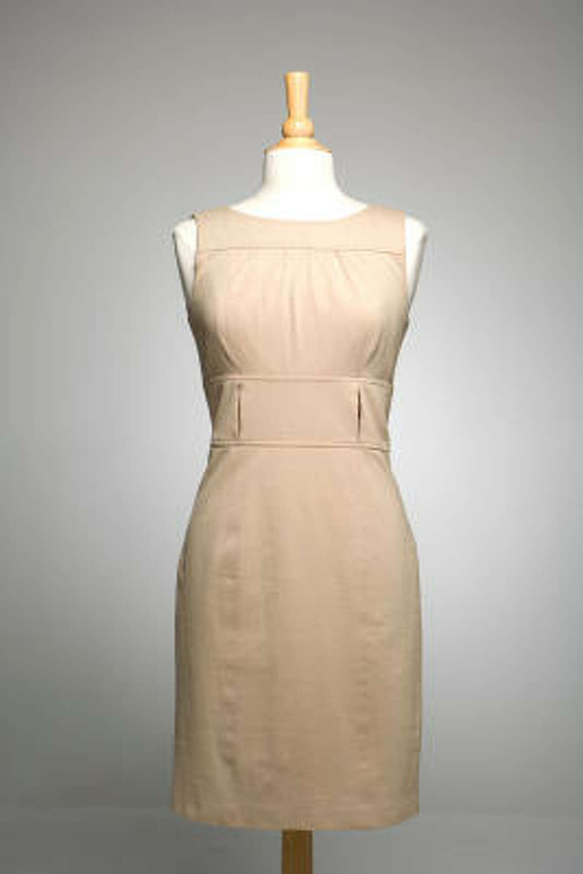You can take this simple dress, add a few accessories and turn it into a whole new outfit.
