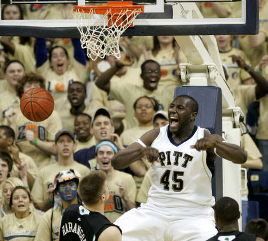 DeJuan Blair, F, PittsburghVery productive big at college level; elite rebounder; competitive kid; very successful run at Pitt; position is still in question; great motor, physicality. Photo: Keith Srakocic, AP