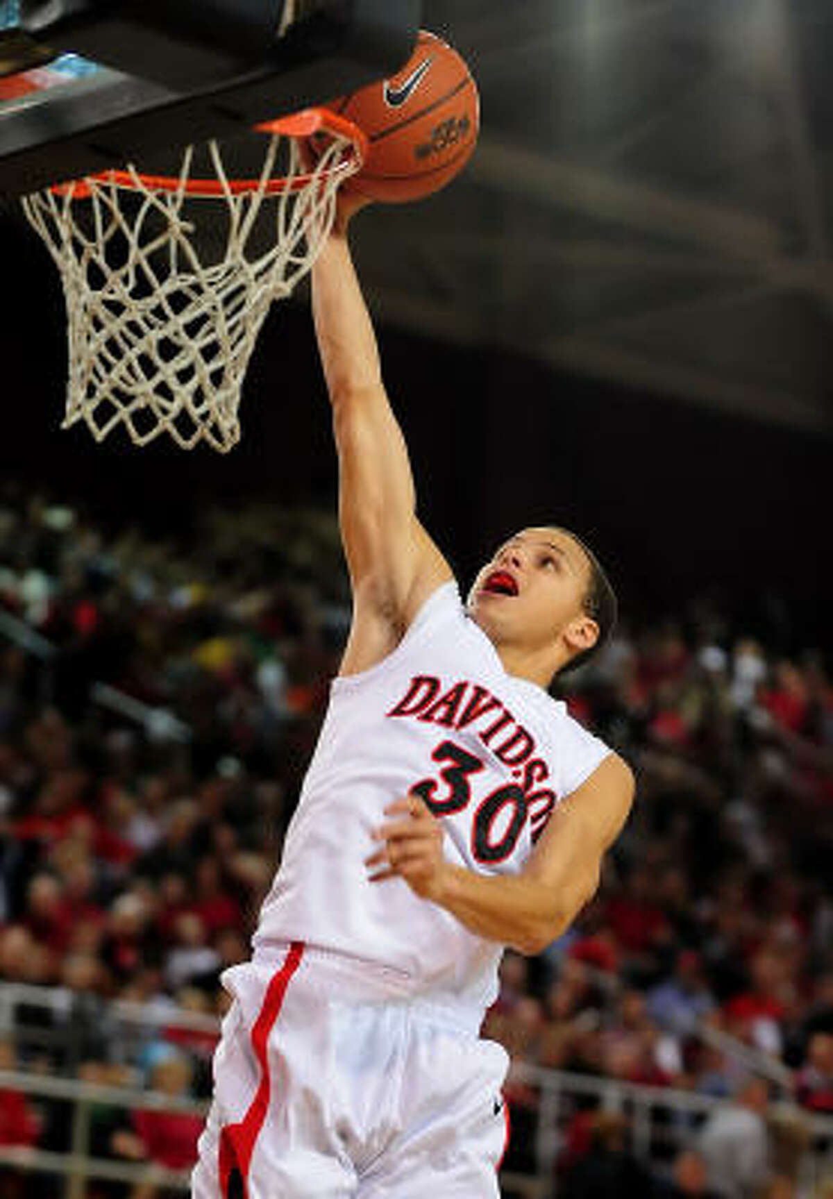 Stephen Curry, G, Davidson High basketball IQ; great feel, great pedigree; arguably best shooter in draft; transitioning from two to one; some questions defensively; very, very strong skill set.