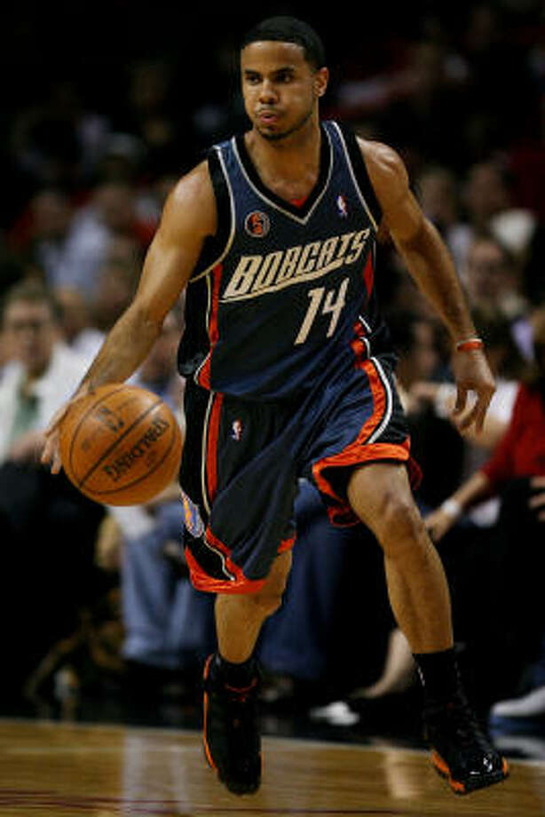 2008: D.J. Augustin (Hightower)Augustin, who played one year at Hightower after evacuating New Orleans in the wake of Hurricane Katrina, was taken with the ninth overall pick by the Charlotte Bobcats. Photo: Doug Benc, Getty Images