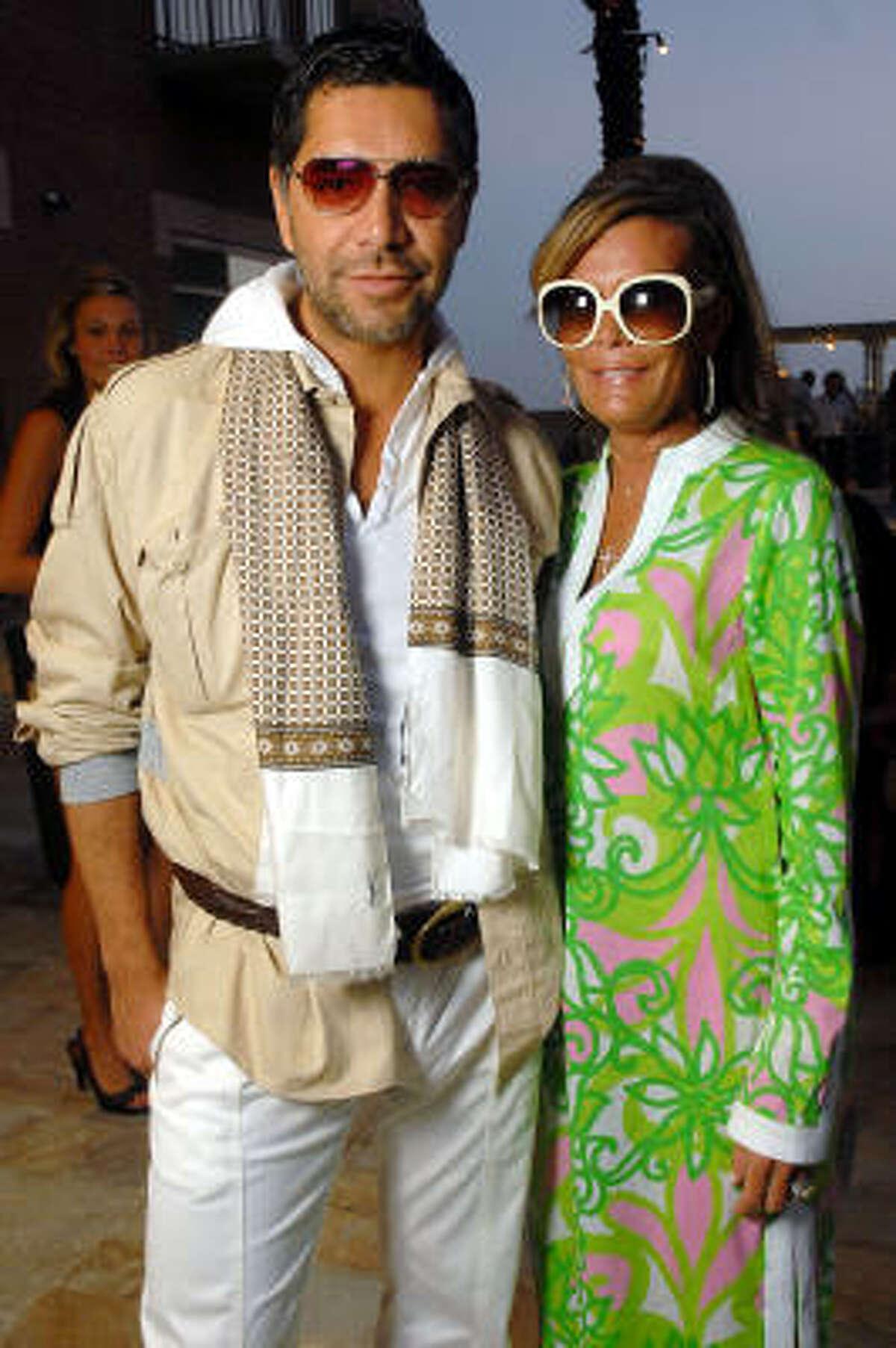 Ceron with Debra Grierson