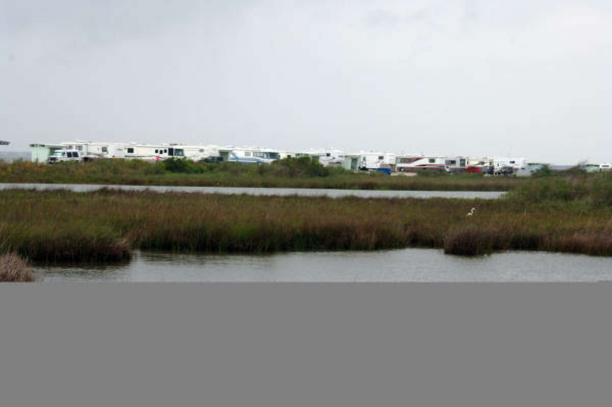 Goose Island State Park: Anglers and birdwatchers enjoy camping on this coastal park north of Corpus Christi.